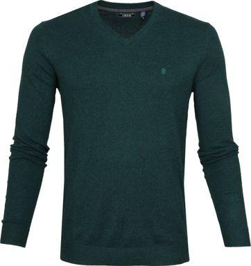 IZOD Pullover V-Neck Green