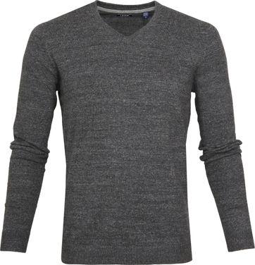 IZOD Pullover V-Neck Grey