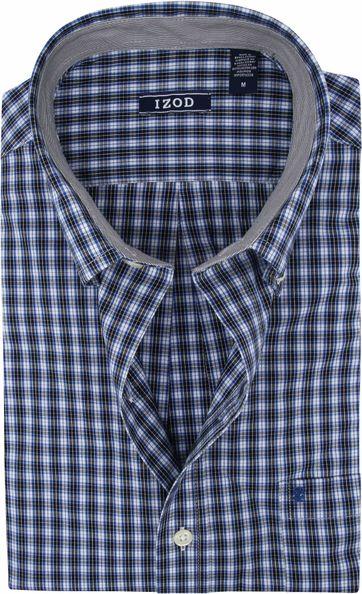 IZOD Shirt Check Navy