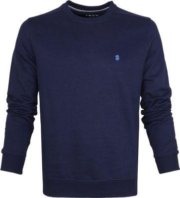IZOD Solid Fleece Sweater Navy