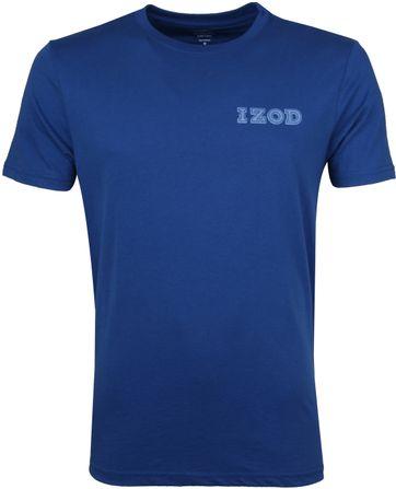 IZOD T-shirt Basic Tee Blauw