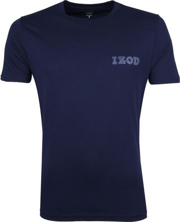 IZOD T-shirt Basic Tee Navy