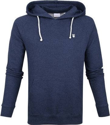 KnowledgeCotton Apparel Hoodie Navy