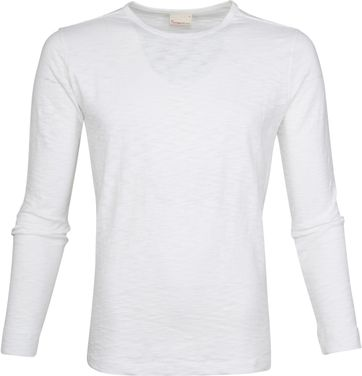 KnowledgeCotton Apparel LS T-shirt White