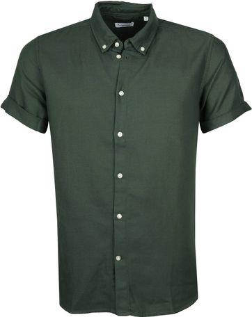KnowledgeCotton Apparel Shirt Army