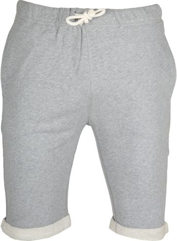 KnowledgeCotton Apparel Short Melange Grey