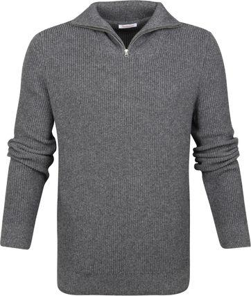 KnowledgeCotton Apparel Zipper Grey