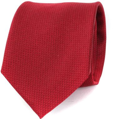 Krawatte Seide Bordeaux Motiv