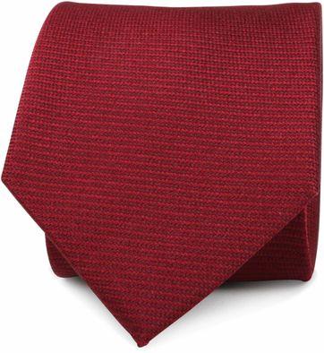 Krawatte Seide Bordeaux Rot