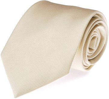 Krawatte Seide Off-White Uni F09