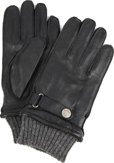 Laimbock Ruffre Handschoenen Zwart