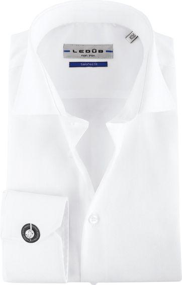 Ledub Non Iron SL7 Shirt White