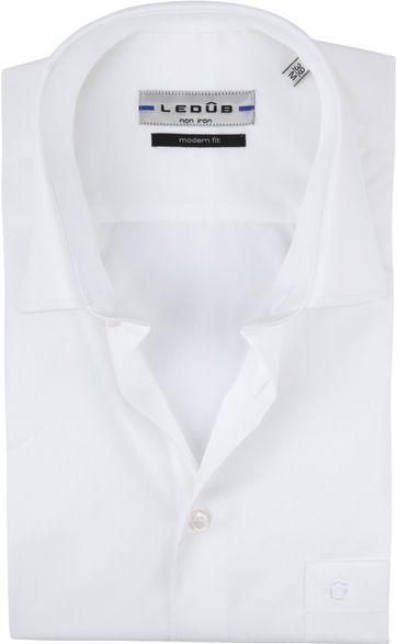 Ledub Overhemd Korte Mouwen Wit