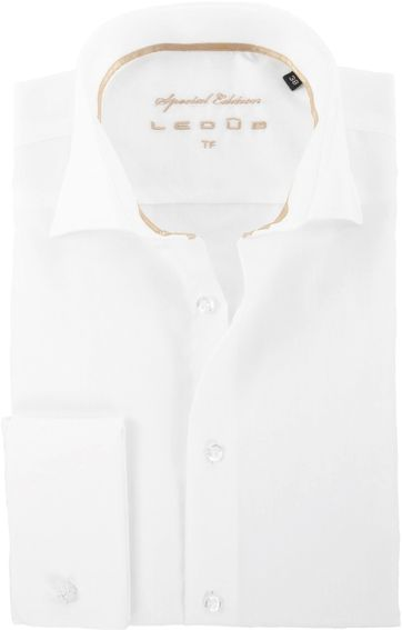 Ledub Wedding Shirt Ecru