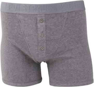 Levi's Boxer Shorts Grey Rib