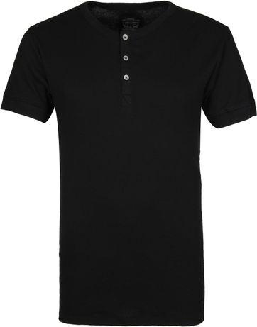 Levi's Henley T-Shirt Zwart
