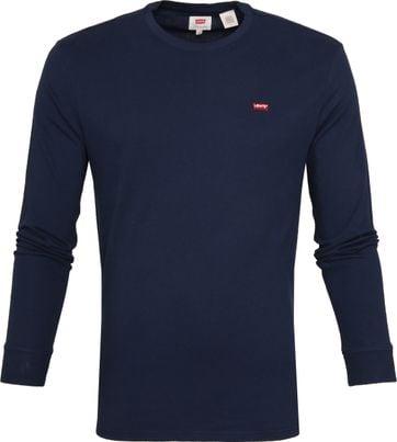Levi's Original LS T-shirt Dunkelblau