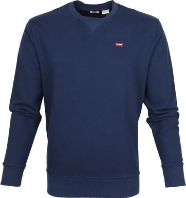 Levi's Original Sweater Donkerblauw