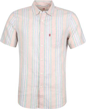Levi's Overhemd Sunset Roze