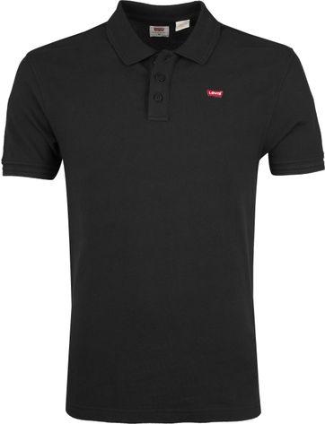 Levi's Poloshirt Housemark Schwarz