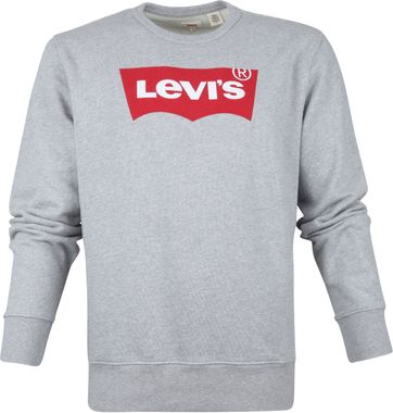 Levi's Sweater Graphic Grey