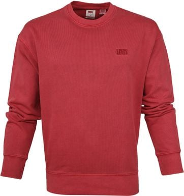 Levi's Sweater Red