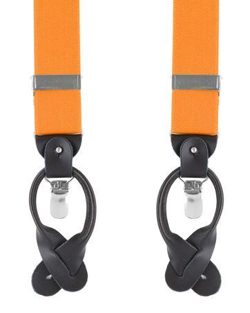 Luxus Hosenträger Orange