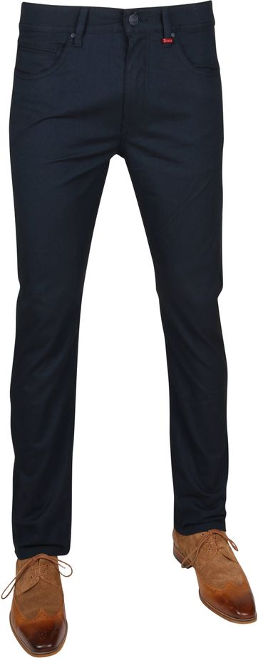 Mac Arne Pants Dessin Navy