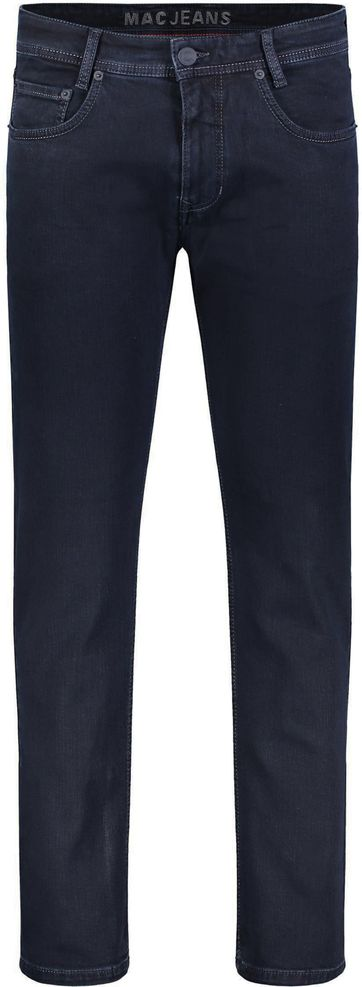 Mac Broek Arne Stretch Blue Black H799