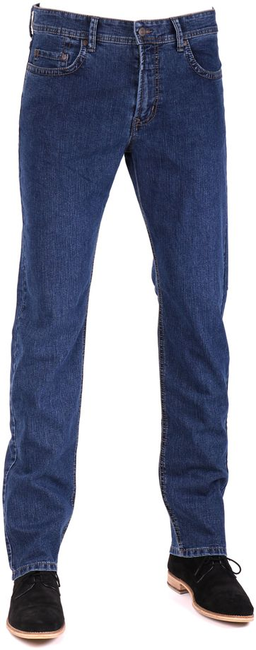 Mac Hose Ben Stretch Stonewash Dark H108