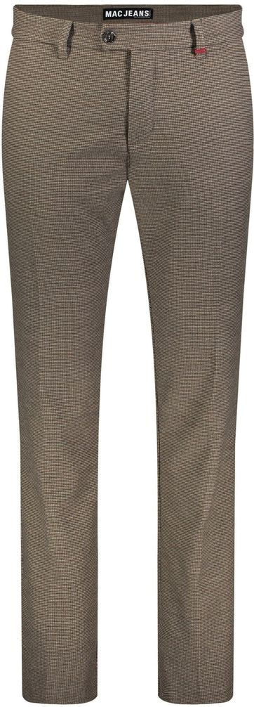 Mac Lennox Chino Pepita Brown