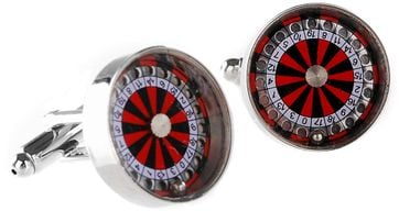 Manchetknoop Roulette
