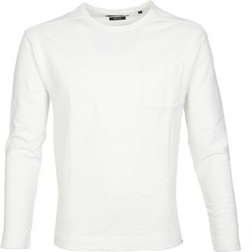 Marc O'Polo Longsleeve T-shirt Wit