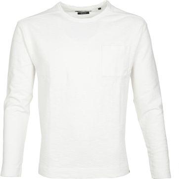 Marc O'Polo Marc O'Polo Longsleeve T-shirt Weiß