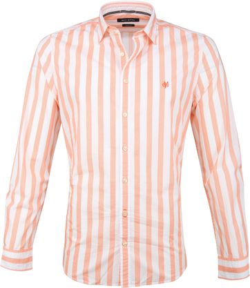 Marc O'Polo Overhemd Stripes Orange