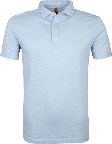 Marc O'Polo Poloshirt Air Lichtblauw