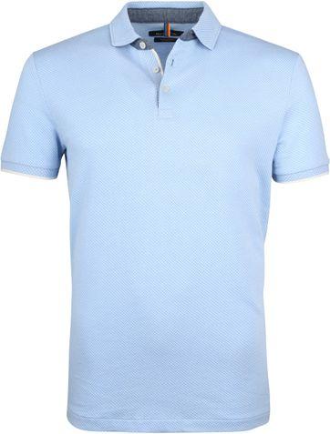 Marc O'Polo Poloshirt Lichtblauw N81