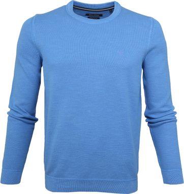 Marc O'Polo Pullover Dessin Blue