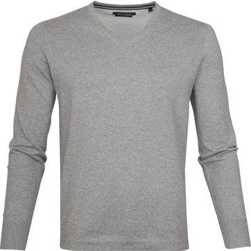 Marc O'Polo Pullover V-Neck Light Grey