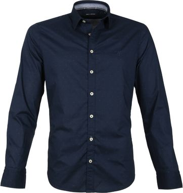 Marc O'Polo Shirt Dark Blue
