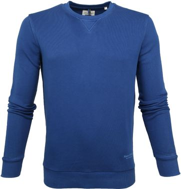 Marc O'Polo Sweater Crew Neck Blauw