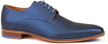 Melik Schuh Leder Orsino Blau