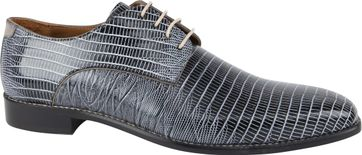 Melik Schuh Soria Schwarz Weiß