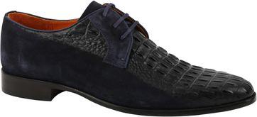 Melik Shoe Dubbled Navy