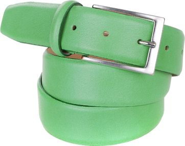 Men's belt Leather Green C89