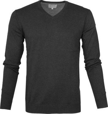 Michaelis Pullover V-Neck Dark Grey