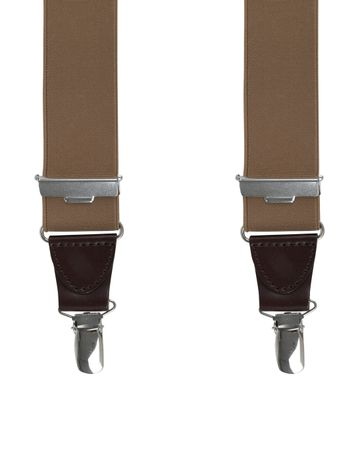 Michaelis Suspenders Brown