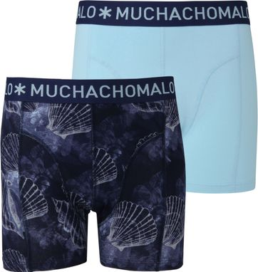 Muchachomalo Shorts 2er-Pack Coral 6