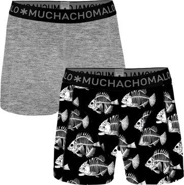 Muchachomalo Shorts 2er-Pack Fish 7