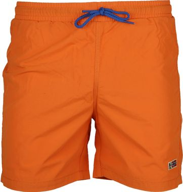 Napapijri Badeshorts Villa Solid Orange
